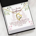 I Love You With All My Heart Gift For Girlfriend   Forever Love Necklace