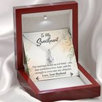 Gift For Wife Our Marriage Is Our Sacred Bond Alluring Beauty Necklace