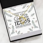 Congratulations On Your First Holy Communion   Forever Love Necklace