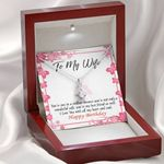 I Love You With All My Heart Gift For Wife Alluring Beauty Necklace