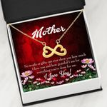 How Grateful I Am Infinity Heart Necklace Gift For Mom