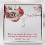 Gift For Girlfriend Thank You So Much Alluring Beauty Necklace
