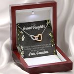 If I Had To Choose Interlocking Hearts Necklace Grandma Gift For Granddaughter