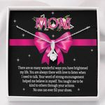 Alluring Beauty Necklace Gift For Mom When I Need To Talk