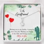 Gift For Girlfriend Hobby Job Happy Life ALlluring Beauty Necklace