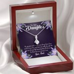 Gift For Daughter My Greatest Wish Is That Alluring Beauty Necklace