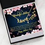 I'll Make Sure That Today You Feel Loved Gift For Mom Scripted Love Necklace