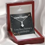 Gift For Granddaughter Merry Christmas Alluring Beauty Necklace