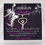 Believe In Yourself Unicorn Stethoscope Necklace Gift For Nurse Daughter