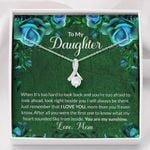 Green You Are My Sunshine Gift For Daughter Alluring Beauty Necklace