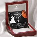 I Love You So Much Wedding Day Gift For Future Wife Alluring Beauty Necklace