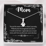Alluring Beauty Necklace Daughter Gift For Mom I Appreciate You So Much
