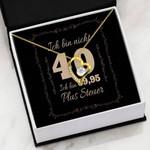 Ich Bin Nicht Forever Love Necklace Gift For Women Forever Love Necklace Forever Love Necklace