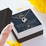 Want To Be Your Last Everything Gift For Wife Forever Love Necklace