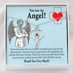 You Are An Angel Stethoscope Necklace Gift For Nurse