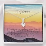 Mountain Sunset How Special You Are To Me Gift For Girlfriend Alluring Beauty Necklace