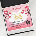 Todavía Serías Tú Infinity Heart Necklace Gift For Women