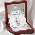 To My Girlfriend By My Side Alluring Beauty Necklace