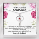 Stethoscope Necklace Gift For Caregiver Blessed To Have You In Life