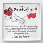 You Are Like A Star In The Sky Love Knot Gift For Lovers
