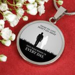 Those We Love Circle Pendant Necklace Gift For Lover Girlfriend