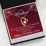 Mom Birthday Gift Box Greatest Treasure   Forever Love Necklace