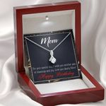 Love You Dearly Mom Gift For Mother Alluring Beauty Necklace