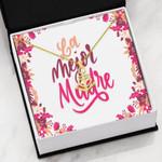 La Mejor Madre Gift For Mom 18K Gold Anchor Necklace