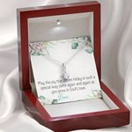 Message Gift Joy Today Communion Alluring Beauty Necklace