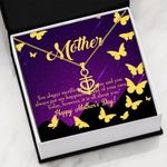 You Always Sacrifice Message Card Anchor Necklace Gift For Mom