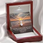 Of Power Of Love Of A Sound Inspirational Message Gift Alluring Beauty Necklace
