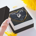 Thank You For Sparking My Soul Gift For Wife Forever Love Necklace
