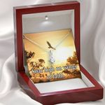 Soar High On Faith Inspirational Message Gift Alluring Beauty Necklace
