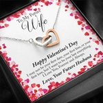 Interlocking Hearts Necklace Gift For Wife Your Last Everything