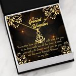 No Matter How Old I Get Message Card Anchor Necklace Gift For Mom