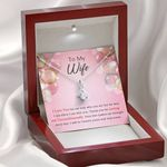 Thanks For Loving Me Unconditionally Gift For Wife Alluring Beauty Necklace