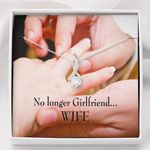 No Longer Girlfriend Alluring Beauty Necklace Gift For Wife