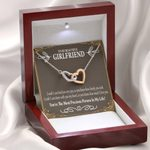 Interlocking Hearts Necklace Gift For Girlfriend You Are Precious