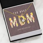 The Best Mom Flower Decoration Gift For Mom Forever Love Necklace