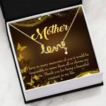 Thank You For Being A Beautiful Constant In My Life Gift For Mom Scripted Love Necklace