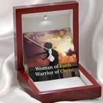 Woman Of Faith Warrior Of Christ Gift For Daughter Alluring Beauty Necklace