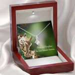 Mom And Daughter The Best Friends Forever Gift For Daughter Alluring Beauty Necklace