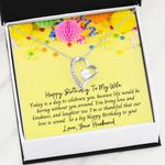 Thankful That Our Love Is Sound Birthday Gift For Wife Forever Love Necklace