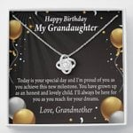 Love Knot Grandmother Gift For Granddaughter Birthday Always Be There