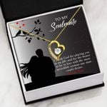 Thank God For Placing You In My Life Gift For Soulmate   Forever Love Necklace