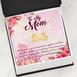 We Have Many Memories Infinity Heart Necklace Gift For Mom