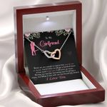 Interlocking Hearts Necklace Gift For Darling Card Words Are Not Enough