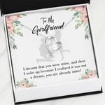 You Are Already Mine Gift For Girlfriend   Forever Love Necklace