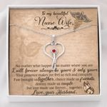 Stethoscope Necklace Gift For Nurse Wife Love Made Us Forever Together
