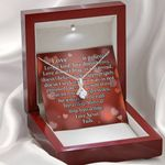 Love Is Patient Kind Inspirational Message Gift Alluring Beauty Necklace